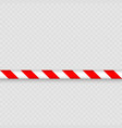 lines of barrier tape vector image