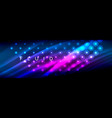 liquid neon flowing waves glowing light lines vector image vector image