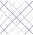 Navy Blue Grid White Diamond Background vector image vector image