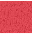pattern of leaves Burgundy vector image