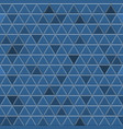 seamless pattern of gray triangles vector image vector image