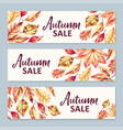 Autumn sale banners
