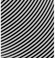 Black and white striped background vector image vector image