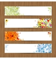 Four seasons - spring summer autumn winter banners vector | Price: 1 Credit (USD $1)