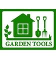 garden symbol icon vector image