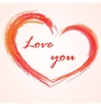 Love background heart vector image vector image