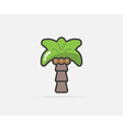 palm can be used as logo or icon vector image vector image