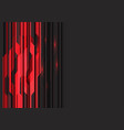 red circuit light with dark grey blank space vector image