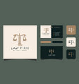 symbol lawyer attorney advocate template linear vector image vector image