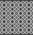 white net on black background seamless pattern vector image