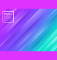 abstract multicolored striped background vector image