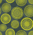 ethnic circular seamless pattern vector image vector image