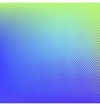 Green blue halftone background vector image vector image