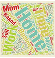 Home Based Business Ideas for Work at Home Moms vector image vector image