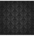 Seamless Damask Wallpaper 4 Gray Color vector image vector image