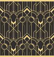 abstract wave geometric seamless pattern vector image vector image
