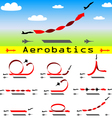 Aerobatics airplane vector | Price: 1 Credit (USD $1)