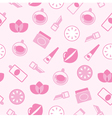 cosmetics seamless pattern vector image vector image