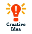 creative idea icon vector image