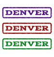 denver watermark stamp vector image