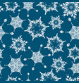 holiday navy blue hand drawn christmass vector image