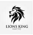 lion logo designs vector image vector image