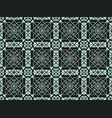neoclassic seamless oriental pattern islamic vector image vector image