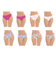 Pants and bottoms set vector image