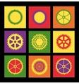 Pop art pattern vector image