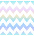rainbow zigzag seamless pattern vector image vector image