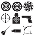 Shooting sports vector image