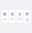 wedding love and romance symbols for invitation ui vector image vector image
