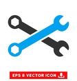 Wrenches Eps Icon vector image vector image