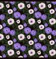 a floral seamless pattern vector image