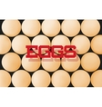 Abstract background with eggs vector image