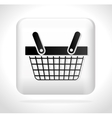 button basket buying cyber monday vector image