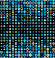 dots seamless pattern geometric vector image