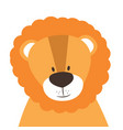 funny doodle animal little lion in cartoon style vector image vector image