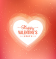 happy valentines day beautiful background vector image vector image