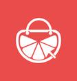 lemonade online shop logo design template and vector image