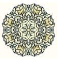 Round kaleidoscopic lace ornamental background