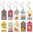 sweet tags vector image