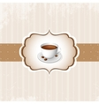 Vintage Coffee Background vector image