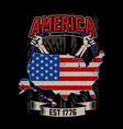 american est 1776 vector image