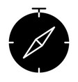 compass icon simple minimal 96x96 pictogram vector image vector image