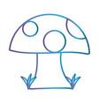 fungus icon image vector image vector image