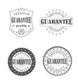 Guarantee quality vector image vector image