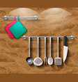 kitchen4 vector image