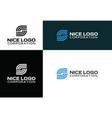 logo internet service provider vector image vector image