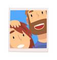 portrait smiling man and woman happy couple in vector image vector image